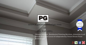 Ottawa House Painters - PG PAINT & DESIGN - Your Interior and Exterior Home Painting Professional