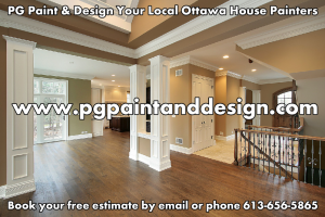 PG Paint & Design-Ottawa House Painters, Interior Painting, Exterior Painting