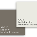 Benjamin Moore Neutral paints colour samples