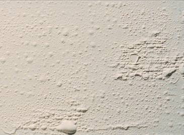 Blistered Paint after painting has dried is a problem PG PAINT & DESIGN Ottawa house painters can help fix this paint problem
