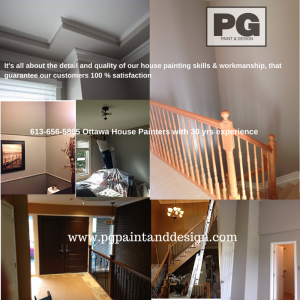 House Painting in Ottawa - PG PAINT & DESIGN