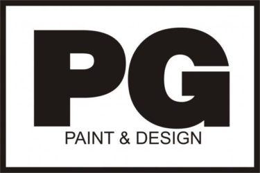 PG PAINT & DESIGN logo