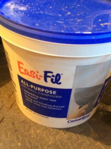 drywall compound used by painters for drywall repairs before house painting